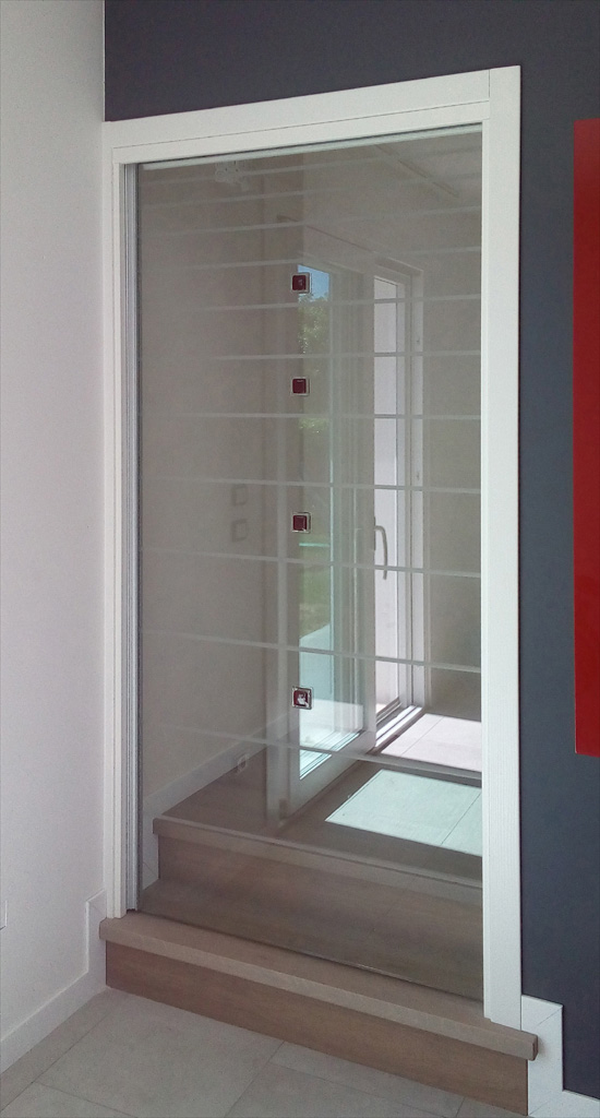 Scorrevoli interno muro porte di vetro vetrate artistiche - Porte scorrevoli per interno ...